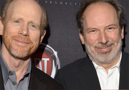 Vanity Fair Oscar Party: Hans Zimmer and Ron Howard