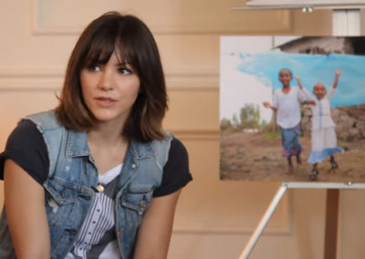 Katharine McPhee on Pizza With an Icon